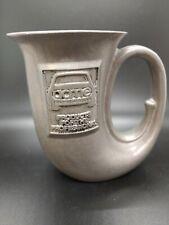 VINTAGE Wilton French Horn Beer Stein Mug Pewter USA Acme Auto finish