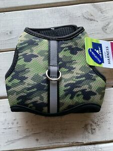 Top Paw Camo Vest Harness XS Dog Puppy Reflective