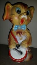 Ledraplastic rubbertoys ledra squeaky toy vintage squeeze cane dog gatto cat