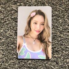 "Sunmi ""1/6"" Album Hottracks Official Preorder Event Photocard POB"