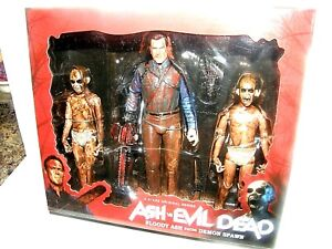 Ash vs Evil  Dead / bloody ash faces/ demon spawn action figures