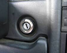 D Audi 80 90 B4 Chrom Ring für das Zündschloß - Edelstahl poliert -