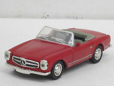 Mercedes-Benz 280 SL Cabrio in rot, o.OVP, New Ray, 1:43 (HV)