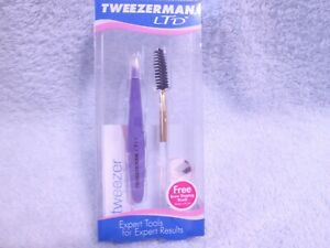 Tweezerman LTD Tweezer Lavender With Brow Shaping Brush