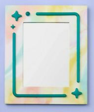"""More Than Magicâ""""¢ Magnetic Locker Mirror with Led Light - Pastel Marbel"""