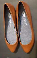Dr. Scholl's Really Tan Brown Women's Ballet Flat Size 9M Leather