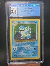 CGC Blastoise (3.5) Pokémon 2/130  WOTC Unlimited Base Set