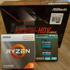 Motherboard + CPU + 240 GB SSD Bundle (AMD)
