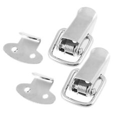 28mm Length Hardware Aviation Toolbox Metal Toggle Latch 2 Pcs DT