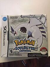 Pokemon Soul Silver Box, Manual  ONLY - No Pokewalker