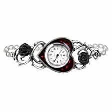 Alchemy Gothic Bed of Blood Roses Bracelet Watch AW22