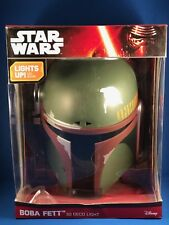 Star Wars - Boba Fett 3D Deco Light - NIB