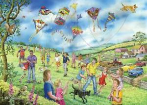 House of Puzzles HOP Let's Go Fly a Kite Big 250 XL Pcs Jigsaw New Sealed MC489