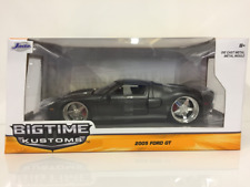 FORD GT 2005 Gris 1:24 Escala Jada 97366 una gran KUSTOMS