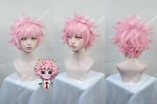 My Boku no Hero Academia Ashido Mina Anime Costume Cosplay Wig Need style +Track