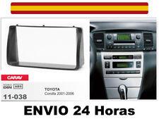 Marco Adaptador CARAV 11-038 2Din Kit Instalacion Radio TOYOTA Corolla 2001-2006