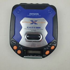 Aiwa Cross Trainer Portable CD Player 10 Second EASS XP-SP800 Sport Water Resist