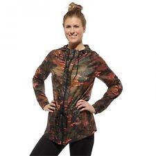 Reebok Womens Rain Jacket Camouflage Coat Size X-Small NEW Z83427