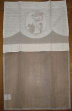 rideau brise bise store organdy gris et écru 60 x 90 motif ange dco de charme