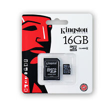 KINGSTON TECHNOLOGY 16GB Micro SD HC Classe 4 Scheda di memoria per i dispositivi SAMSUNG