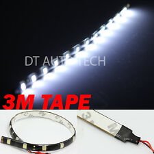"2X 12"" White 12 SMD LED Strip Fog DRL Xenon Flexible Interior Trunk Lights"