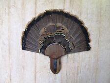 Solid Black Walnut Turkey Fan / Beard Mounting Kit -02