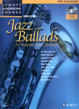 Schott Saxophone Lounge Jazz Ballads Alt Sax Play-Along Noten CD Dirko Juchem