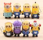 Sets of 8pcs Despicable Me MINIONS Movie Toys Action Figures AU*