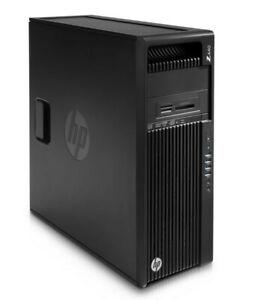 HP Workstation Z440 - Xeon E5-1650 v4 @ 3,6 GHz - 32GB RAM - Quadro M2000 - DVD