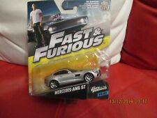 FAST AND FURIOUS MERCEDES AMG GT NEW ON CARD 1/55
