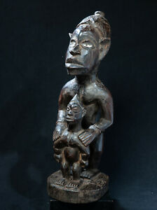 Yombe, Maternity Statue, Democratic Republic of Congo, Central Africa