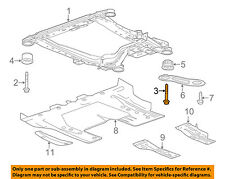 GM OEM Front Suspension-Engine Cradle Rear Bolt 11610596