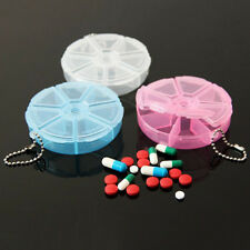 Mini Weekly 7 Day Daily Pill Organizer Box Secure Case Large Compartment 1PC CN