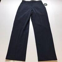 Dressbarn Dark Blue Tummy Control Trouser Leg Pants Size 6 New A234