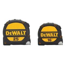 DeWalt - DWHT74441HDD - 25 ft. and 16 ft. Tape Measure - Set of 2