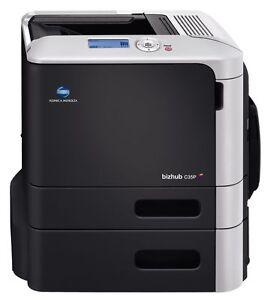 Konica Minolta Bizhub C35P Farblaserdrucker gebraucht ~ 13.700 gedr. Seiten