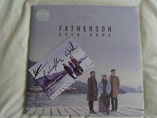 Bundle: Fatherson : Open Book : Vinyl Album LP & CD Sealed & Signed Postcard