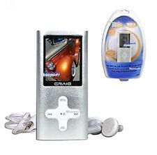 (NEW) CRAIG MP3 PLAYER 4GB VIDEO PLAYER W/ 1.8 INCH COLOR  DISPLAY