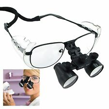 Magnification 3.5x Dental Loupe Binocular, Galilean Style Nickel Alloy Frame