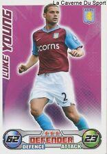 LUKE YOUNG # ENGLAND ASTON VILLA TOTTENHAM CARD PREMIER LEAGUE 2009 TOPPS