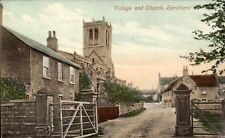 Sprotborough Village & Church by Valentine's for T.W.Draper, Doncaster.