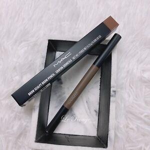 MAC Brow Sculpt Brow Pencil LINGERING New in box 0.008 oz eyebrow liner