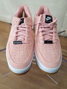 """NIKE Air Force 1 Sage Low """"Coral Stardust"""" Women's Size 6 AR5339 603 NEW"""