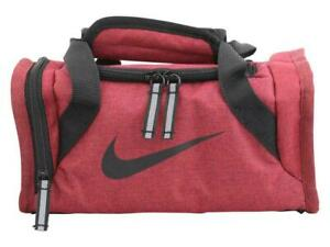 Nike Kids Deluxe Insulated Tote Lunch Bag Mini Duffle Pack 9A2591-A5L Red Black