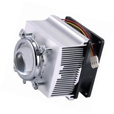 TX Aluminium Heatsink Cooling Fan+44mm Lens 120 degree For 50W 100W Led Chip (He