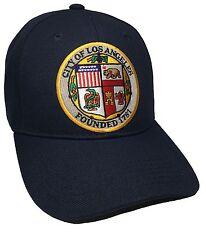 City Of Los Angeles Hat Color Navy Blue Adjustable