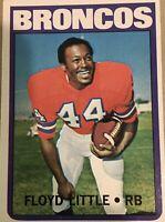 Floyd Little 1972 Topps #50
