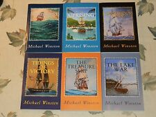 All 6 books in the Jonathan Kinkaid nautical fiction series by Michael Winston