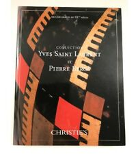 Christie's Collection Yves Saint Laurent et Pierre Berge arts decoratives