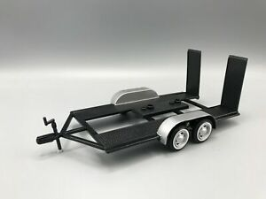 PKW TRAILER  / Auto Anhänger  - Metall   1:24 Motormax >>NEW<<